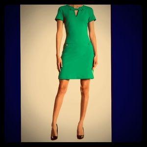 New Tommy Hilfiger Grommet Neck Pocket Dress